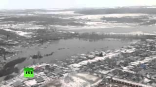 В Поволжье пришли весенние паводки