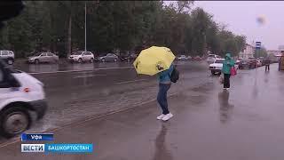 Башкирию ожидают сильные порывы ветра и дожди