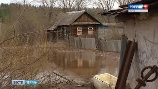 В крае более 70 домов пострадали из-за паводка