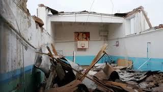 Обрушение крыши школы в селе Ермолкино Белебеевского района 7 марта 2019