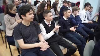 Встреча учеников 10-й школы с сотрудниками ОП№4 УМВД России по г. Уфе