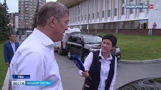 Радий Хабиров проголосовал на выборах Главы Башкортостана