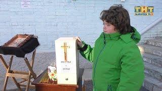 Благотворительная акция в церкви