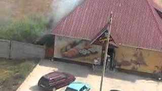 Пожар в суши бар Мико Ишимбай
