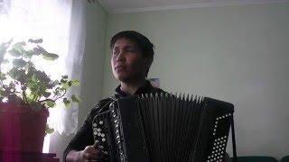 ГУЛЬНАЗИРА башкирская народная песня на баяне