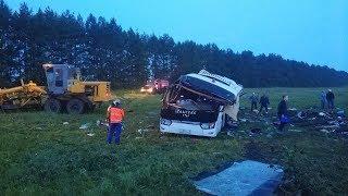В ДТП с автобусом из Татарстана погибли люди