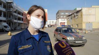 UTV. Уфимцев призывают оставаться дома с помощью громкоговорителей. Как это работает?