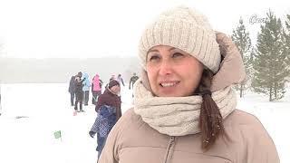 Работники системы образования соревновались в лыжных забегах / Сатурн-ТВ Мелеуз