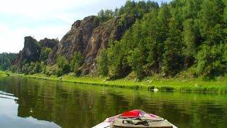 сплав по реке Белая(Агидель)  2015  день 1-2