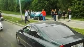 Октябрьский проспект авария