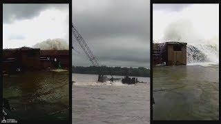 На стройплощадке моста Благовещенск - Хэйхэ рухнул строительный кран