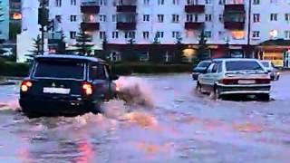 потоп в учалах на площади