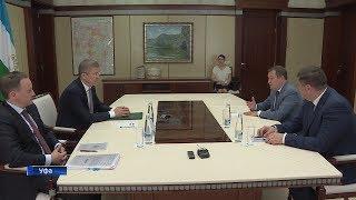 Заместитель министра ЖКХ России Максим Егоров находится с рабочим визитом в Уфе