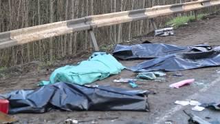 Жуткая авария на трассе Сыктывкар  - Ухта...4 погибших, 8 июля (08.07.2015)