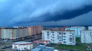 Ураган приближается  в г. Октябрьский 01.06.2017