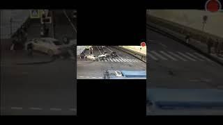 Авария в Питере.