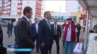 Фестиваль «Молочная страна» в Уфе посетил Радий Хабиров