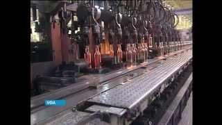 В Уфе на заводе стеклотары рабочий сгорел заживо в плавильной печи