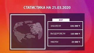 UTV. Коронавирус в Башкирии, России и мире на 25 марта 2020. Плюс опрос уфимцев