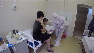 «Должна была идти в школу»: в ковид-госпитале  Уфы показали, как лечат маленьких пациентов