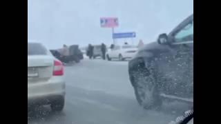 Массовая авария под Уфой | Ufa1.RU
