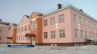 В Баймакском районе завершается строительство крупного культурно-образовательного центра