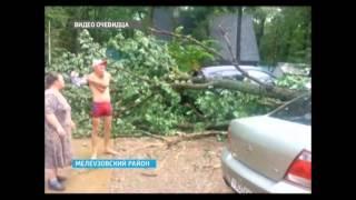 Накануне в нескольких районах Башкортостана прошли ураганы, ливни и шквалистый ветер