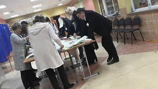 Нефтекамск УИК-497 сортировка избирательных бюллетеней с нарушением 67-ФЗ  пп.14 ст. 68 (08.09.2019)