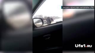 В аварии на трассе в Башкирии погиб человек