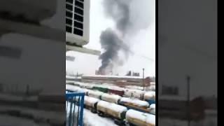В Стерлитамаке на заводе произошел пожар, есть пострадавшие