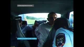 В Кармаскалах начался суд над водителем, который, будучи пьяным, избил сотрудника ГИБДД