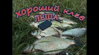 ЛОВЛЯ ЛЕЩА НА ДОЖДЕВОГО ЧЕРВЯ!!! Рыбалка в Башкирии.