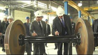 В Башкирии запустили новое предприятие по ремонту колес для грузовых вагонов