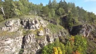 В Башкирии за 157 секунд показали всю красоту горы