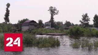 Паводок на Дальнем Востоке сместился к селам Еврейской автономной области - Россия 24