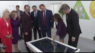 Дмитрию Медведеву презентовали первую в Башкирии полилингвальную школу
