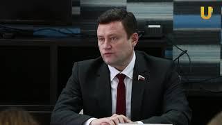 Новости UTV. Встреча Алексея Изотова со СМИ.