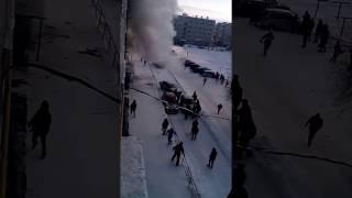 В г.Белорецк прогремел взрыв газа