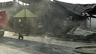 """Пожар,кафе """"Калина"""", Булгаково,Башкирия."""