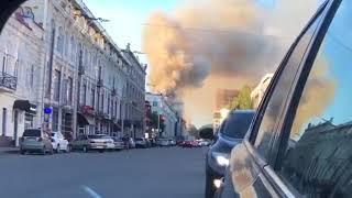 Пожар Уфа