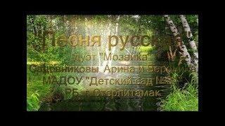 Дуэт Мозаика г Стерлитамак   Песня русская