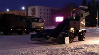 09.02.2019 Более 50 единиц техники вышли на уборку снега в Ишимбае