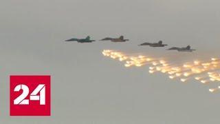 "На ""Авиадартсе"" зрителям показали ""Кинжалы"" - Россия 24"