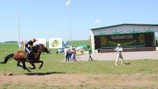 Лошадь врезалась в зрителей на праздновании сабантуя.