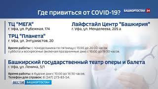 Данные о COVID-19 в Башкирии: число умерших увеличилось на 3 и составляет 458 человек