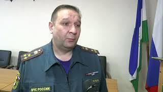 Про пожар в Учалинском районе