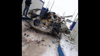 В машине взорвался газовый баллон | Авто всмятку