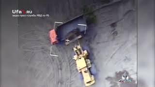 Беспилотник засек кражу ископаемых