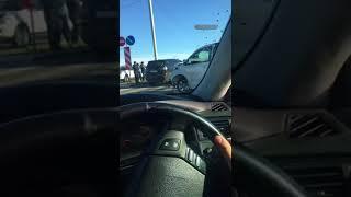 Жесткая авария в микрорайоне Благовещенска