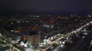 #башкирия #нефтекамск #аэросъемка#ночьной город #21.01.2020 #ГЦК #ТОРОСхоккейныйклуб